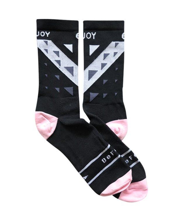 Enjoy designed sock manufactured by Defeet.