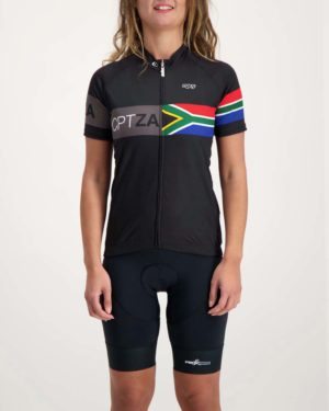 Ladies Destination Supremium cycle top. Designed and manufactured by Enjoy.