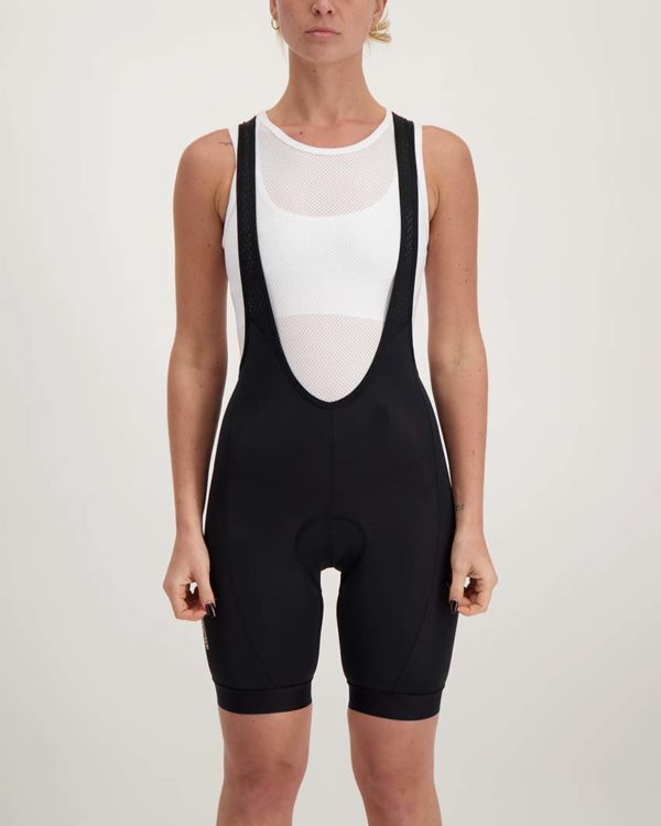 Ladies Mono dual bibshort. Designed and manufactured by Enjoy.