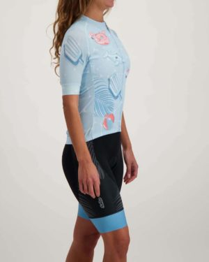Ladies Pool Party ProXision cycle top. Designed and manufactured by Enjoy.