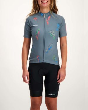 Ladies Racesnake Supremium cycle top. Designed and manufactured by Enjoy.