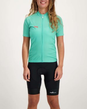 Ladies Warhill Supremium cycle top. Designed and manufactured by Enjoy.