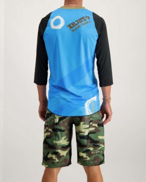 Mens Blaze Trails 3 quarter Enduro jersey. Designed and manufactured by Enjoy.
