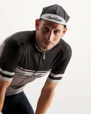 Mens Capetoni cycle cap. Designed and manufactured by Enjoy.