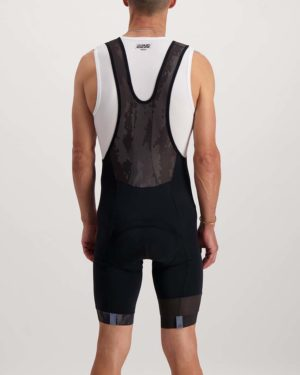 Mens Diffraction Octane bibshort. Designed and manufactured by Enjoy.