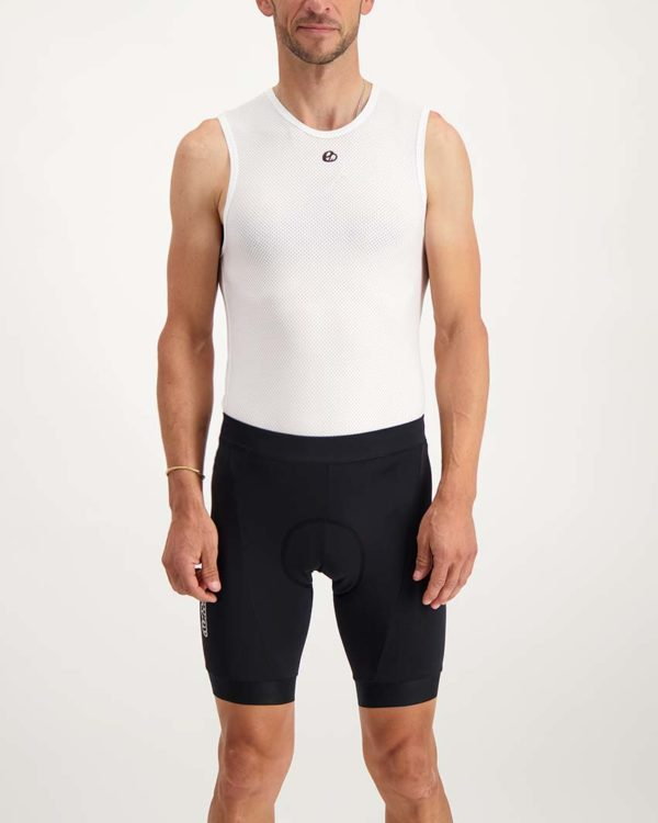 Mens Mono dual short. Designed and manufactured by Enjoy.