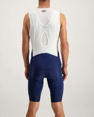 Mens navy ProXision bibshort. Designed and manufactured by Enjoy.