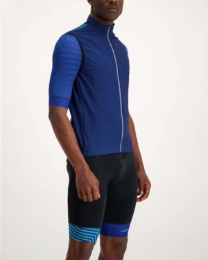 Mens Prismatic winter gilet. Designed and manufactured by Enjoy.