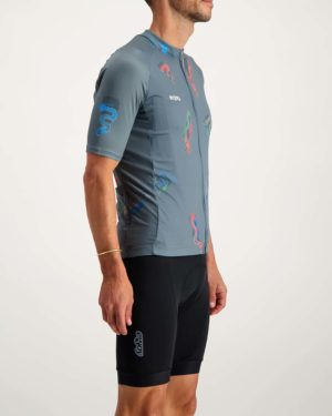 Mens Racesnake Supremium cycle top. Designed and manufactured by Enjoy.