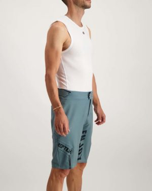 Mens Slate Reptilia Enduro short. Designed and manufactured by Enjoy.