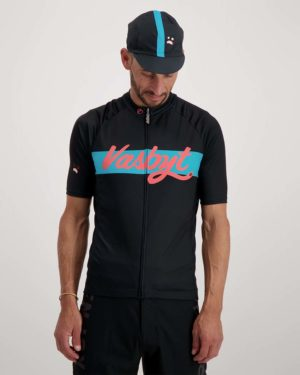 Mens Vasbyt cycle cap. Designed and manufactured by Enjoy.