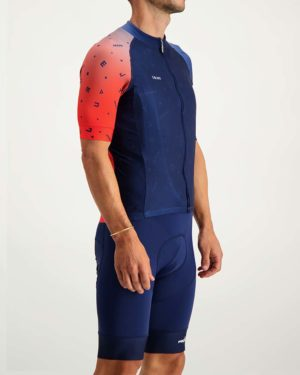 Mens Wattbomb Proxision cycle top. Designed and manufactured by Enjoy.