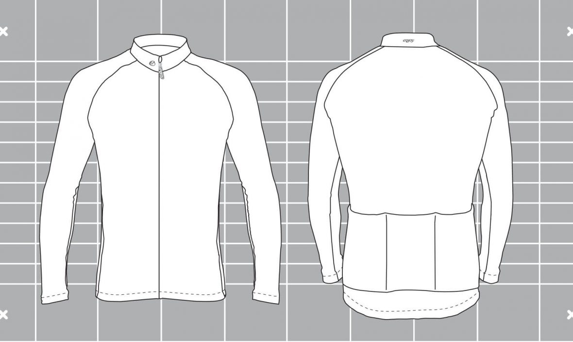 Cocoon custom visual. Custom cycling clothing designed and manufactured by Enjoy Fitness.
