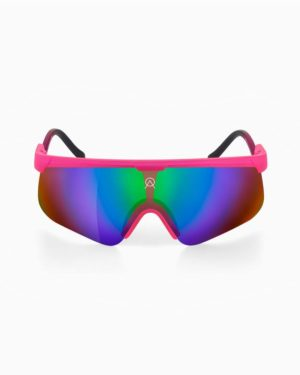 Delta candy pink sky mirror by Alba Optics