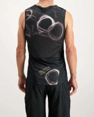 Blaze Trails mens running vest. Designed and manufactured by Enjoy.