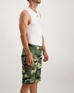 Mens Garth Reptilia trailshort. Designed and manufactured by Enjoy.