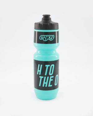 Enjoy H2O turquoise water bottle. Designed by Enjoy. Manufactured by Purist.
