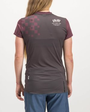 Ladies Bunk Reptilia Enduro Short Sleeve. Designed and manufactured by Enjoy cycling apparel.