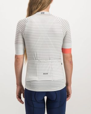 Ladies Distinction Octane Cycle Top. Designed and manufactured by Enjoy cycling apparel.