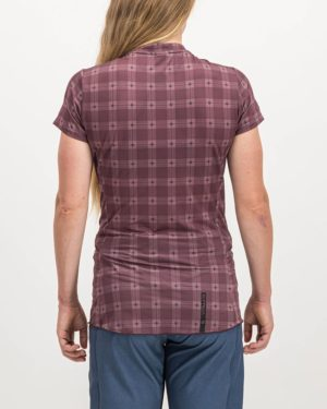 Ladies Hillbilly Reptilia Enduro Short Sleeve. Designed and manufactured by Enjoy cycling apparel.