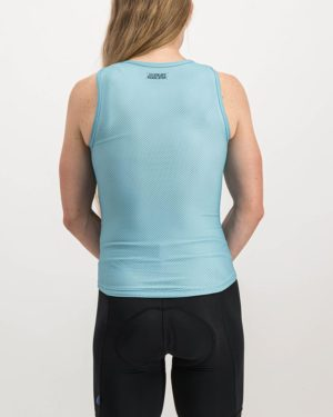 Ladies Semester Ricky Blue Coloured Regulator Vest. Designed and manufactured by Enjoy cycling apparel.