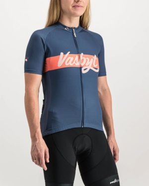 Ladies Vasbyt Supremium Cycle Top. Designed and manufactured by Enjoy cycling apparel.