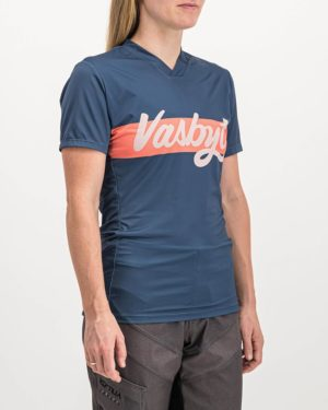 Ladies Vasbyt Enduro Trail Tee Shirt. Designed and manufactured by Enjoy cycling apparel.