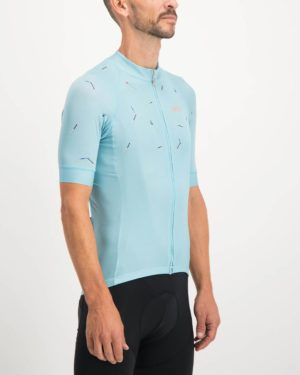 Mens Bad Student ricky blue coloured ProXision Cycle Top. Designed and manufactured by Enjoy cycling apparel.