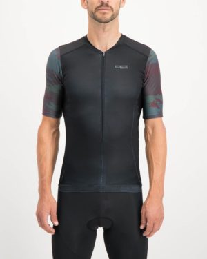 Mens Diffraction Trine Tri Top. Designed and manufactured by Enjoy cycling apparel.