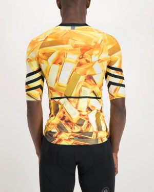 Mens 24 Carat Climber Cycle Top. Designed and manufactured by Enjoy cycling apparel.