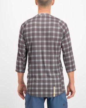 Mens Hillbilly Reptilia Enduro 3 quarter sleeve Shirt. Designed and manufactured by Enjoy cycling apparel.