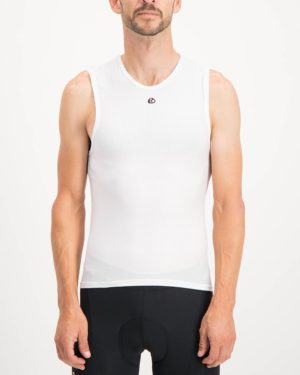Mens White coloured Regulator. Designed and manufactured by Enjoy cycling apparel.