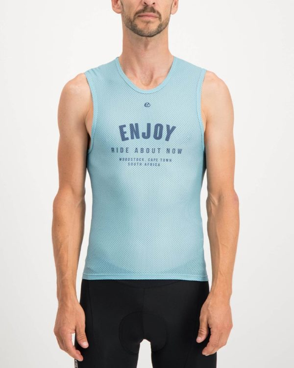 Mens Semester ricky blue coloured Regulator. Designed and manufactured by Enjoy cycling apparel.