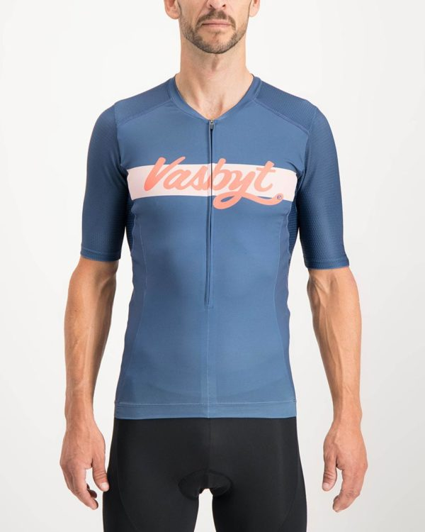 Mens Vasbyt Trine Tri Top. Designed and manufactured by Enjoy cycling apparel.