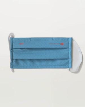 Masked Crusader blue face mask. Designed and manufactured by Enjoy.