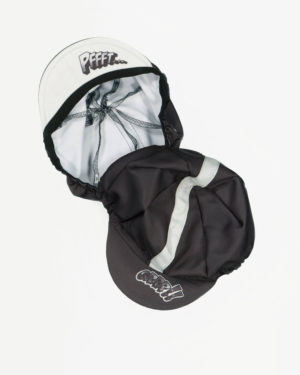 Trial & Error retro cycle cap. Designed and manufactured by Enjoy cycling apparel.