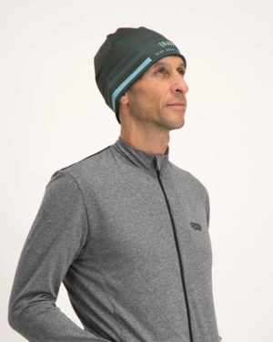 Mens Semester Peat Fleeced Beanie. Designed and manufactured by Enjoy Cycling Apparel.