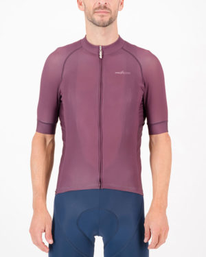 Front of the mens cycling shirt in the baroon Freshman ProXision design made by enjoy.cc