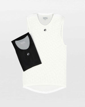 Flat view of the mens summer cycling baselayers in the Emotif design made by Enjoy.cc